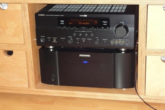 Yamaha RX-V 663 & Marantz MM8003