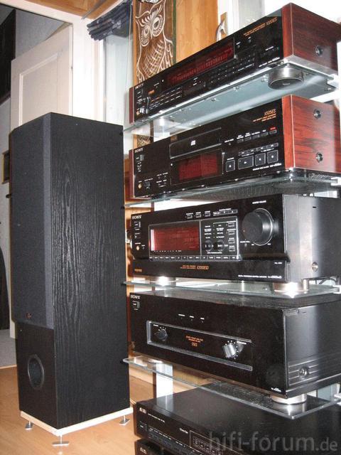 Meine HiFi Anlage Sony TA-n55ES, E2000ESD, X505ES, DAR-1000ES