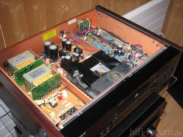 Sony CDP-X505ES Offen