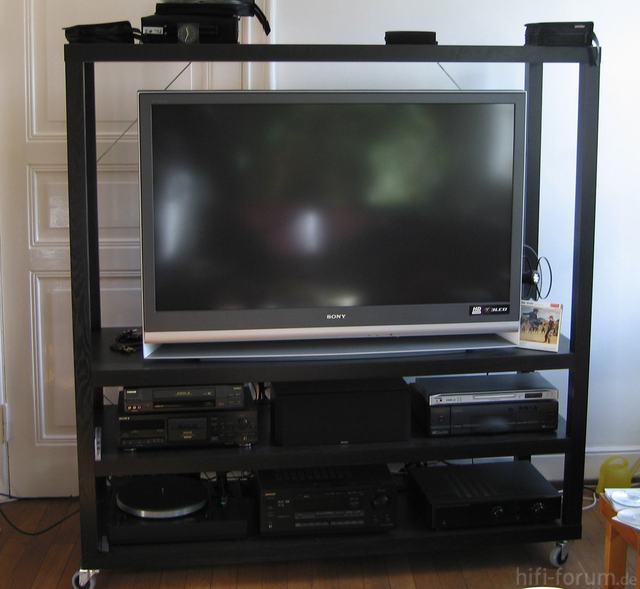 KDF-E50A11E Auf Ikea Lack Regal