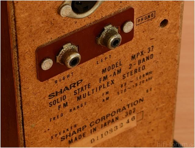 Sharp MPX 37-005