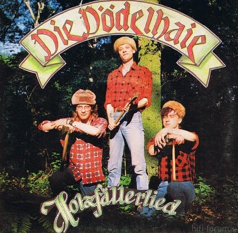 Die Dödelhaie (Holzfällerlied  EP), Front