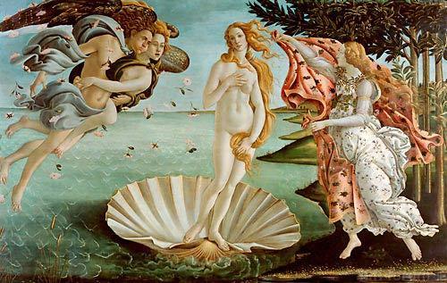 Die Geburt Der Venus Die Schaumgeborene La Nascita A4899