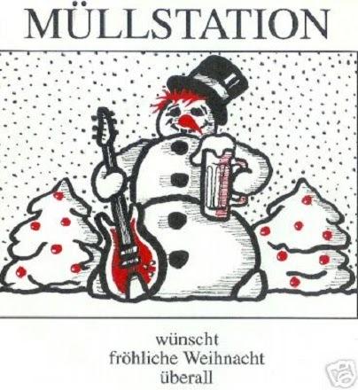 Müllstation (Fröhliche Weihnacht überall  EP), Front