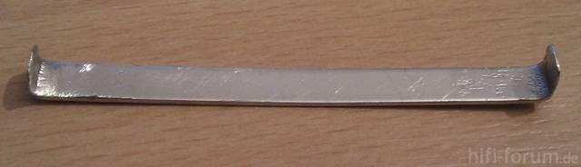 6mm Breiter Und <1mm Dicker Blechstreifen
