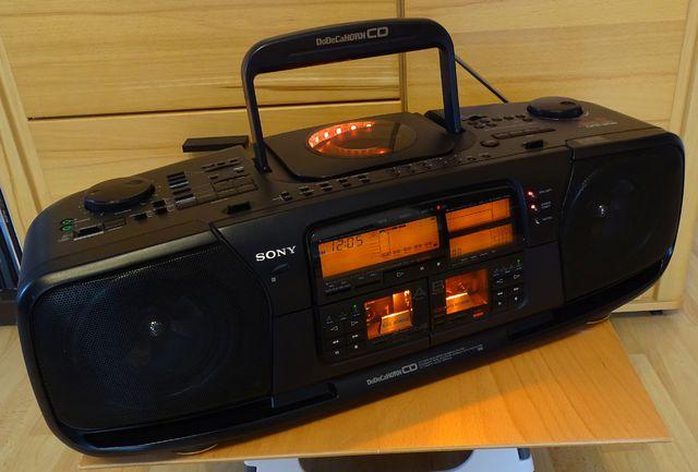 Sony CFD-900 nach Reparatur