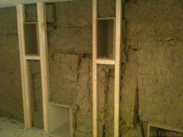 Baffle Wall Steinwolle