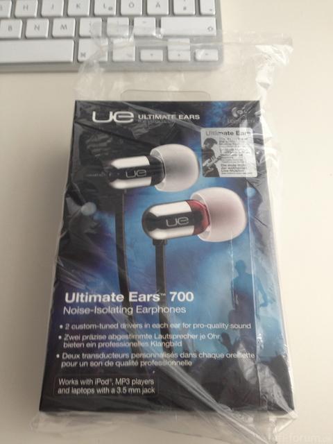 UE700 Verpackung