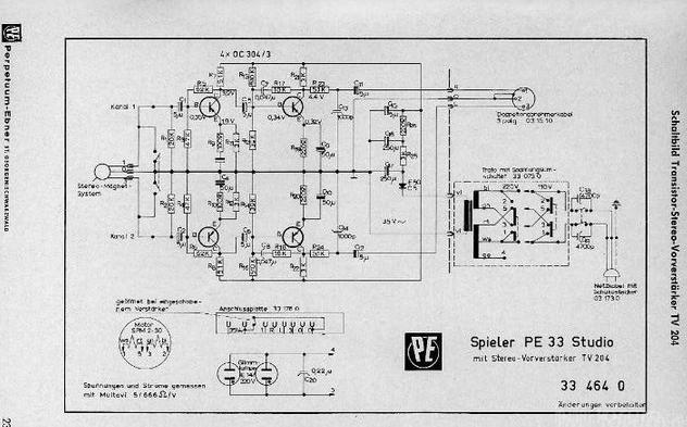 Tv, Video & Audio Gerade Service Manual Telefunken 304 Automatic Plattenspieler