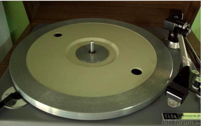 Elac Miracord 40H Körting Plattenteller