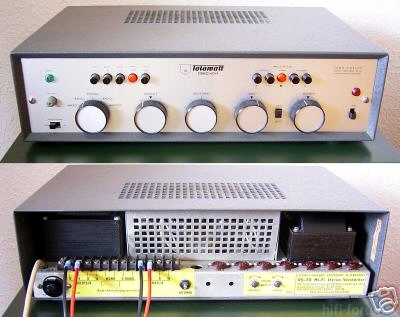 Mein Telewatt VS70 Röhrenamp