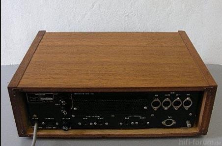 Monacor Nivico JVC Amp 1968 Von Hinten