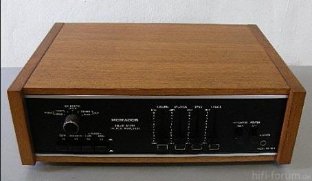 Monacor Nivico JVC Amp 1968 Von Oben