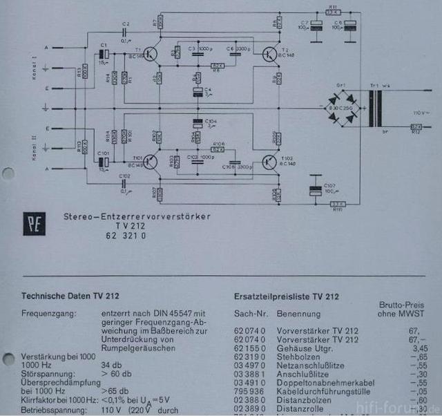 PE TV212G