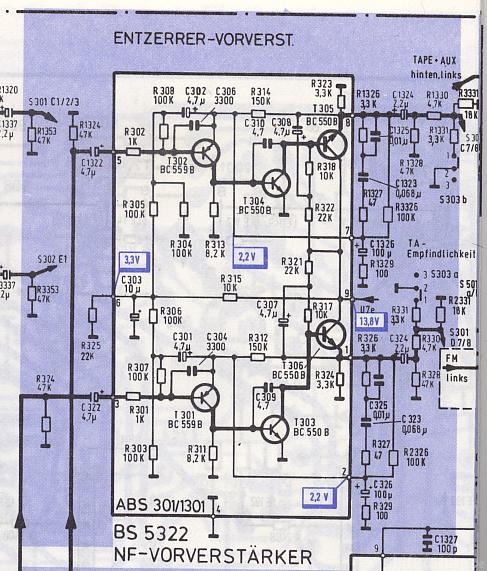 Phonovorverstärker TRX3000