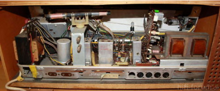 Stereon Stereo Röhrenreceiver Innen