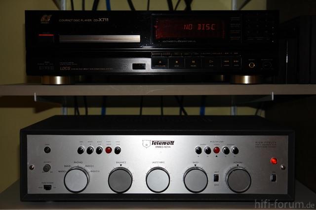 Telewatt VS 70 Und Sansui CD 701