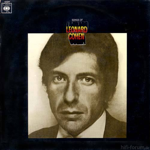 Leonard Cohen Songs Of Leonard Cohen