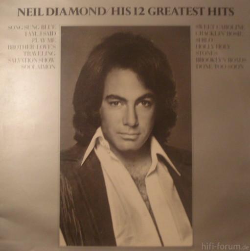 Neil Diamond His 12 Greatest Hits