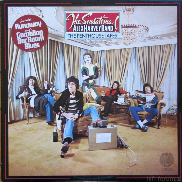 Sensational Alex Harvey Band, The The Penthouse Tapes