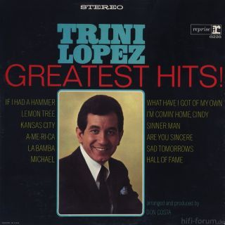 Trini Lopez Greatest Hits