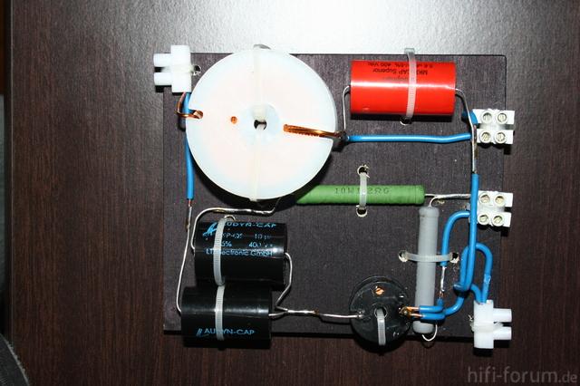Frequenzweiche Des Vector 55 Umbaus