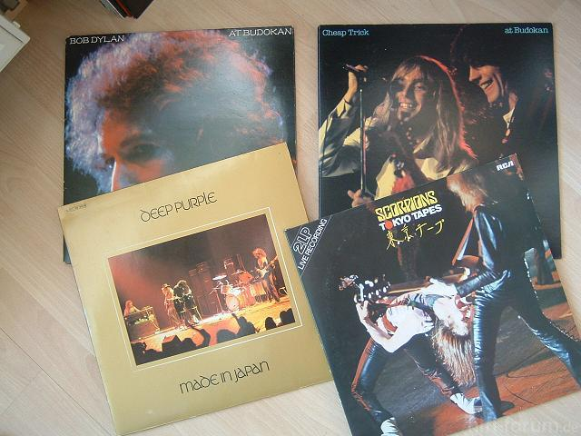Live In Japan LPs