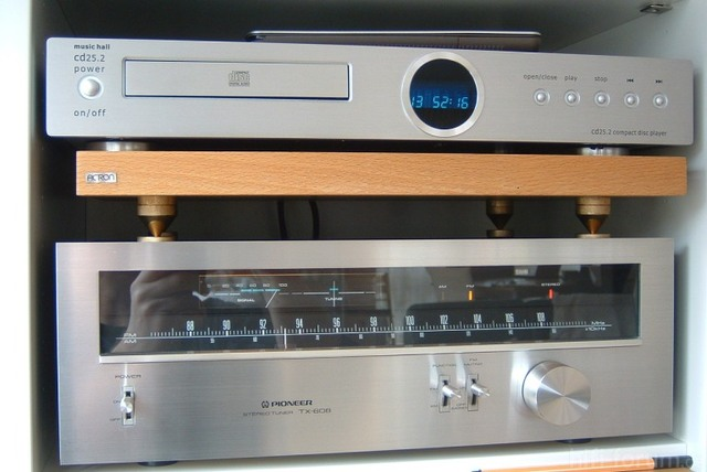 Pioneer TX-608 Und Music Hall Cd25.2 Duo