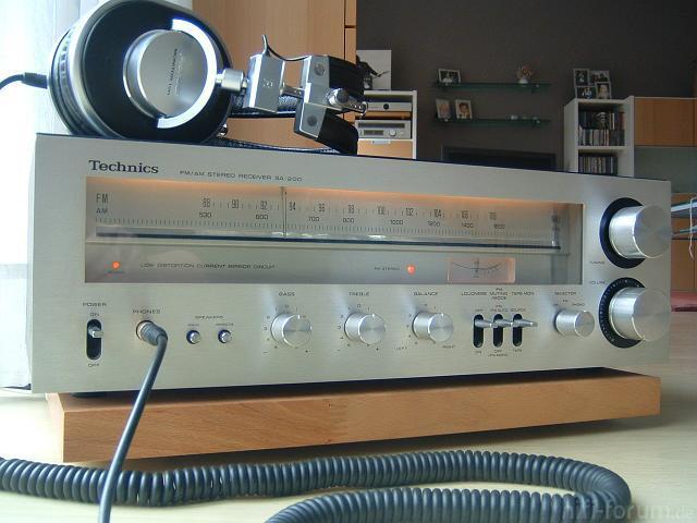 Technics SA-200 Mit Pioneer M10R