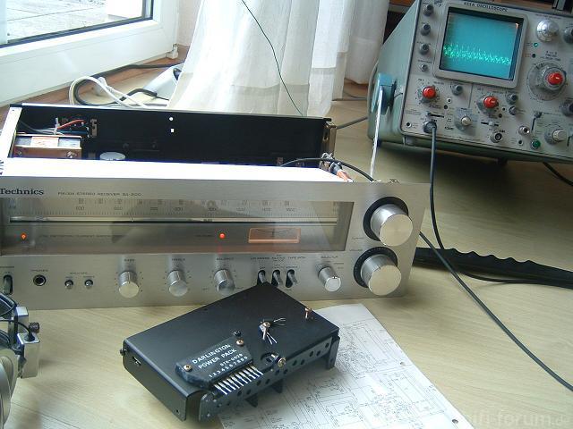 Technics SA-200 Reparatur