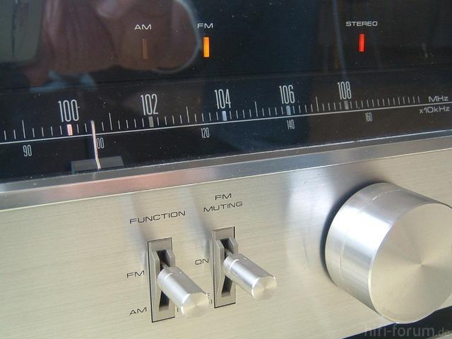 TX-608 Blaue Serie Detail