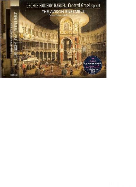H?ndel Concerti Groossi Opus 6