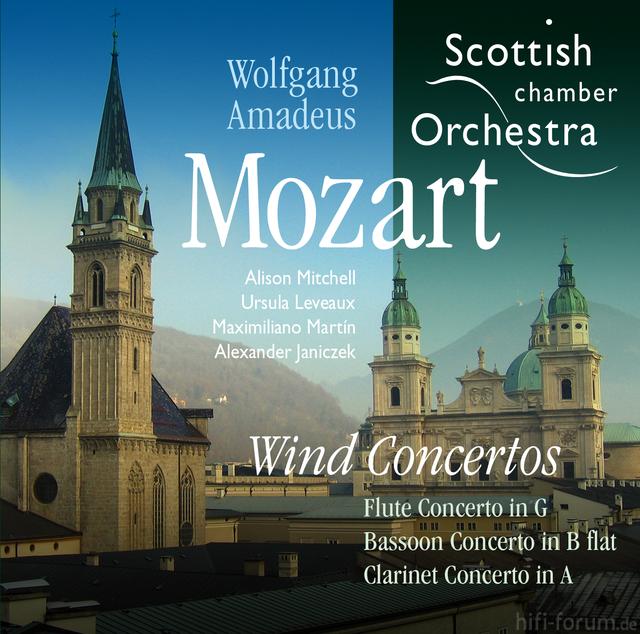Mozart Wind Concertos   Sleeve