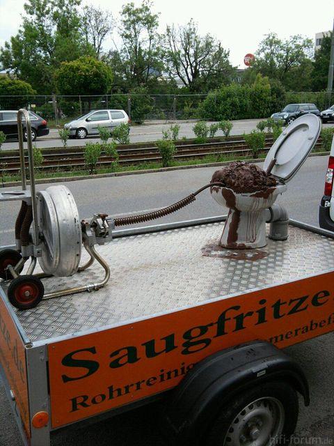 Saugfritze