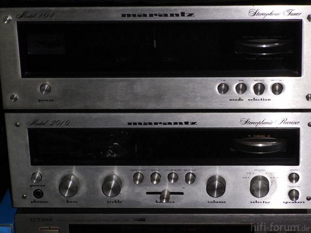 MARANTZ  Model 2010 & Tuner 104 002