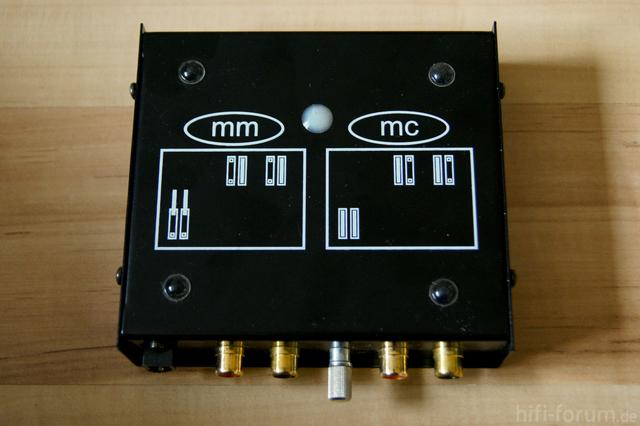 Phono Box Unten