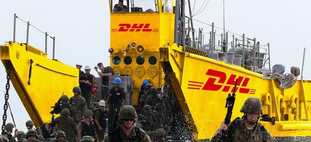 DHL Landungsboot