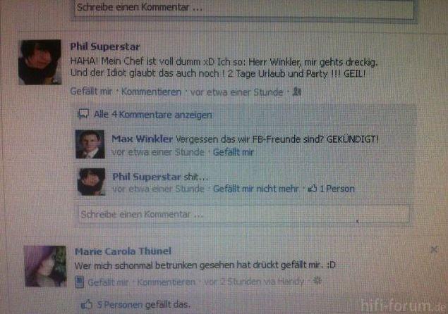Facebook Geil