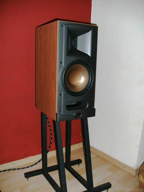 2x klipsch rb 81 wie neu komplett mit st nder lautsprecher hifi forum. Black Bedroom Furniture Sets. Home Design Ideas