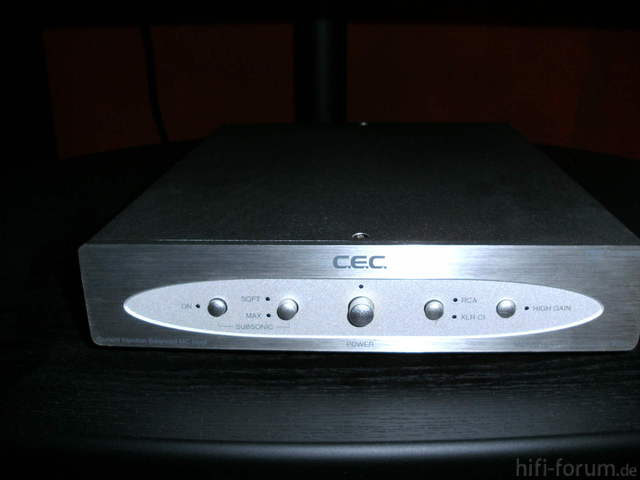 C.E.C. PH 53 MM/MC Phono-Pre