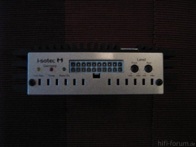 I-sotec I-soamp 4 - 4-Kanal Verstärker