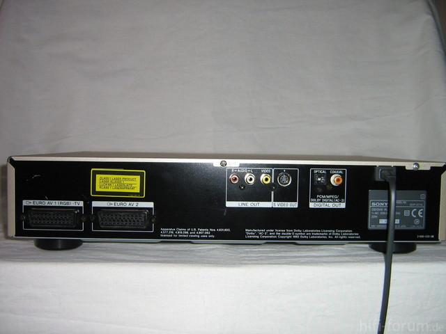 SONY DVP-S 715