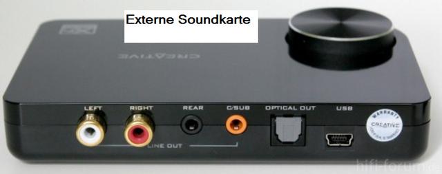 Creative Soundkarte