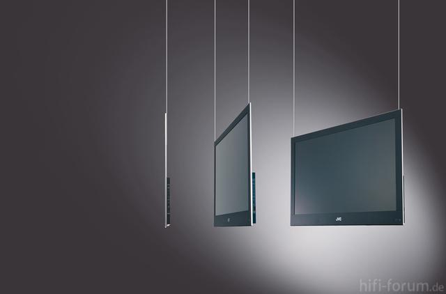 Seilaufhängung LCD