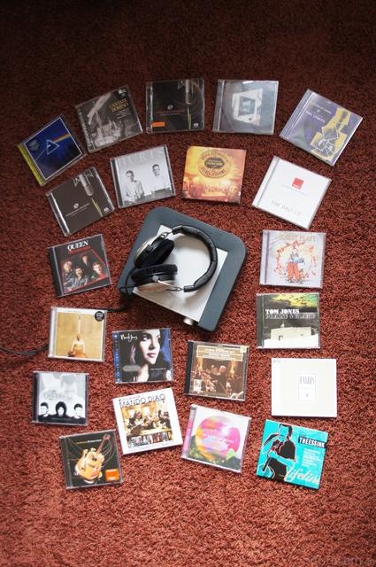 Auswahl CDs
