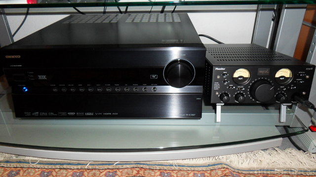 Onkyo PR-SC5507 + SPL Phonitor 2730B