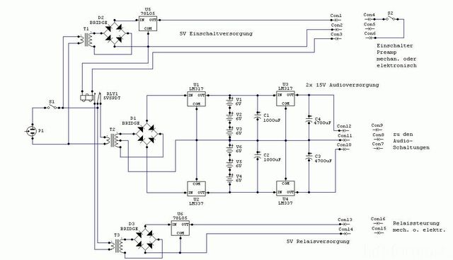 Akku-Netzteil Schem