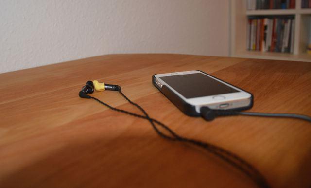 ER4XR am iPhone 5s