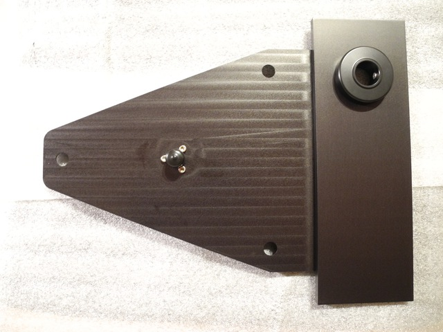 Green Street Audio Subchassis für den LP 12 am KHAN top plate