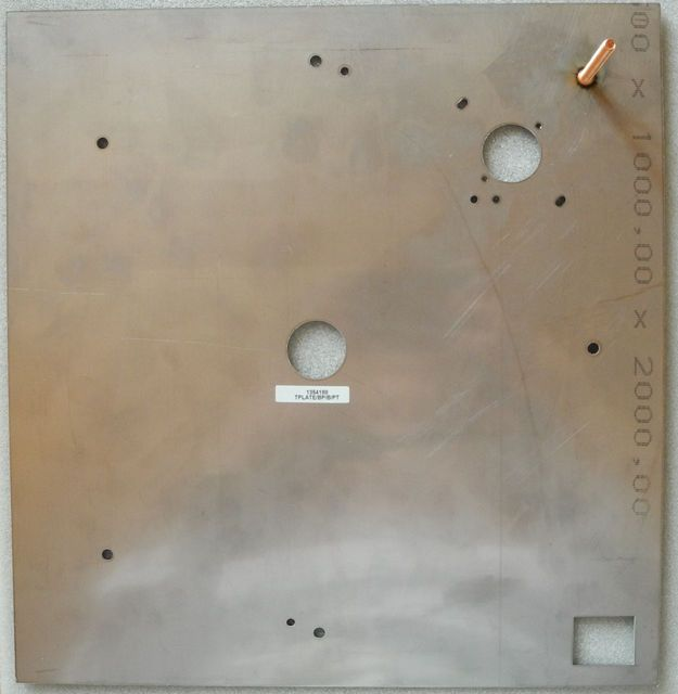 LINN LP 12 TOP PLATE WITH STUD